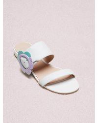 Kate Spade Fabi Sandals - White