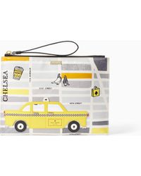 Kate Spade - Nouveau York Taxi Medium Bella Pouch - Lyst