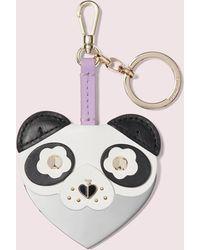 Kate Spade Panda Mirror Bag Charm - Multicolour