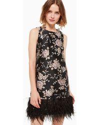 Kate Spade Chinoiserie Pamella Dress - Black