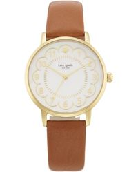 Kate Spade - Scalloped Metro Watch - Lyst