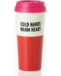 Kate Spade - Warm Heart Thermal Mug - Lyst