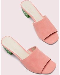 Kate Spade Citrus Slide Sandals - Pink