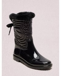 Kate Spade Stormy Boots - Black
