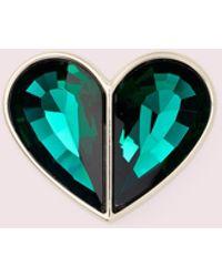 Kate Spade Make It Mine Crystal Twistlock - Green