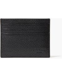 Kate Spade Pebbled Leather Six Card Holder - Black