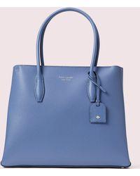 Kate Spade Eva Medium Top Zip Satchel - Blue