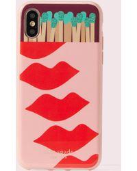 Kate Spade Matchbox Iphone X/xs & Xr Phone Case