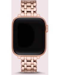 Kate Spade Rose Gold-tone Stainless Steel Apple Watch® Scallop Bracelet - Metallic