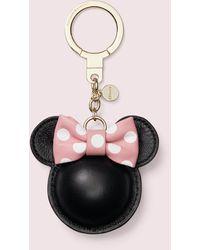 Kate Spade New York X Minnie Mouse Leather Bag Charm - Black