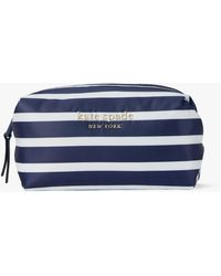 Kate Spade Everything Puffy Stripes Medium Cosmetic Case - Multicolor