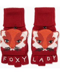 Kate Spade - Foxy Pop Top Mitten - Lyst