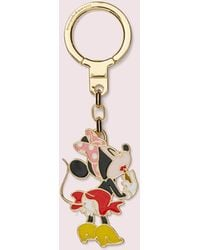 Kate Spade Minnie Mouse Metal Bag Charm - Multicolor
