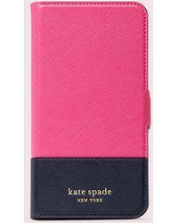 Kate Spade Spencer Magnetische Umschlaghülle Für Iphone 11 Pro Max - Pink