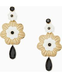 Kate Spade - Posy Grove Statement Earrings - Lyst