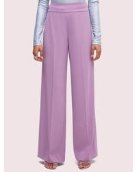 Kate Spade Fließende Hose - Purple