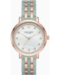 Kate Spade - Mint Monterey Watch - Lyst