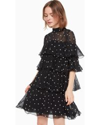 d71f25879ef8 Kate Spade - Heartbeat Embroidered Dress - Lyst