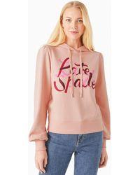 Kate Spade Ribbon Hoodie - Pink
