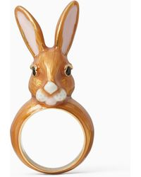 Kate Spade - Bunny Ring - Lyst