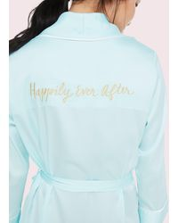 Kate Spade Happily Ever After Robe - Blue