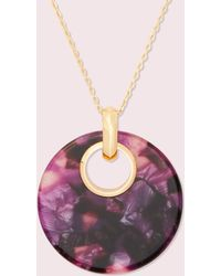 Kate Spade On The Dot Small Pendant - Pink