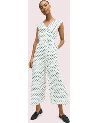 Kate Spade Cabana Dot Jumpsuit - Multicolor