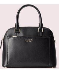 Kate Spade Louise Small Dome Satchel - Black
