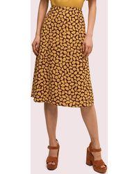 Kate Spade Sunny Bloom Midi Skirt - Multicolour