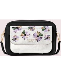 Kate Spade - Make It Mine Customizable Camera Bag Floral Pouch - Lyst