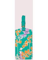 Kate Spade Bird Party Luggage Tag - Multicolour