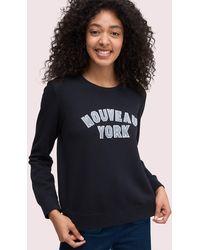 Kate Spade Nouveau York Sweatshirt - Black