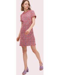 Kate Spade Multi Tweed Dress - Multicolour