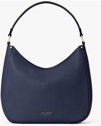 Kate Spade Roulette Large Hobo Bag - Blue