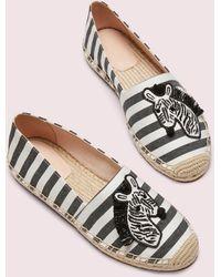 Kate Spade Garden Zebra Espadrilles - Multicolour