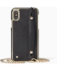 Kate Spade - Hand Strap Stand Iphone X & Xs Crossbody - Lyst