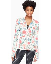 Kate Spade - Blossom Jacket - Lyst