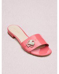 Kate Spade Ferry Slide Sandals - Pink