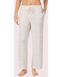 Kate Spade Leopard Lounge Pant - Multicolour
