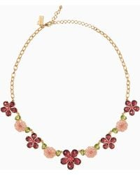 Kate Spade - In Full Bloom Necklace - Lyst
