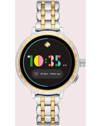 Kate Spade Two-tone Stainless Steel Scallop Smartwatch 2 - Multicolour