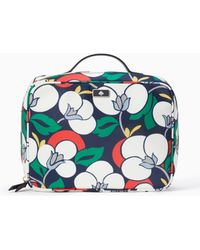 Kate Spade - Dawn Breezy Floral Travel Cosmetic - Lyst