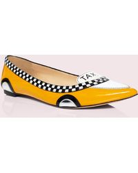 Kate Spade Go Taxi Flats - Yellow