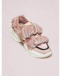 Kate Spade Scrunchie Sneakers - Pink