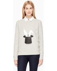 Kate Spade Magic Trick Sweatshirt - Grey