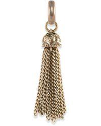 Kendra Scott Small Tassel Charm - Metallic