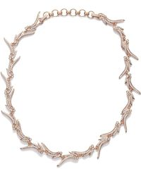 Kendra Scott - Cleo Collar Necklace In Rose Gold - Lyst