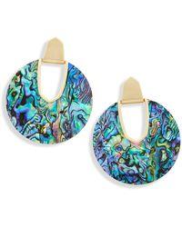 Kendra Scott Diane Drop Earrings - Blue