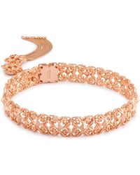 Kendra Scott - Heidi Choker Necklace In Rose Gold - Lyst