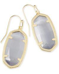 Kendra Scott - Dani Gold Earrings - Lyst